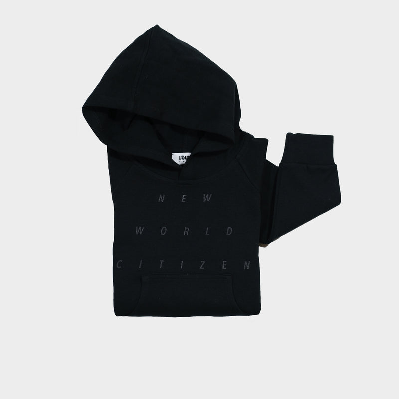 Discovery Hoodie NWC | Noir - loursparis