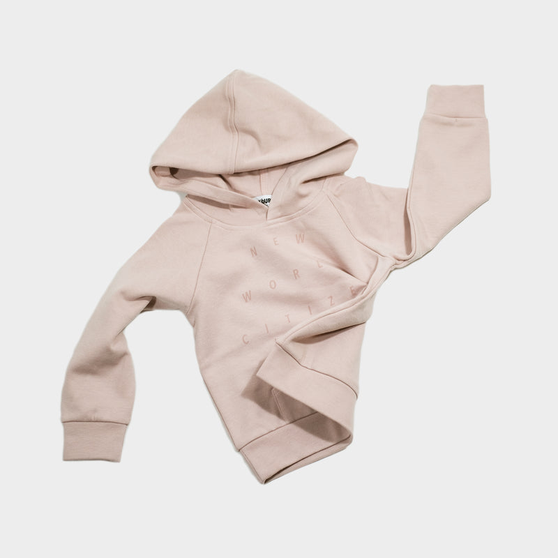 Discovery Hoodie NWC | Rose - loursparis