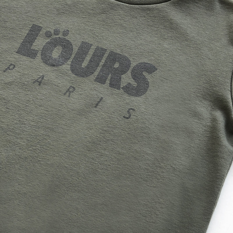 The Original Sweatshirt Logo | Kaki - loursparis
