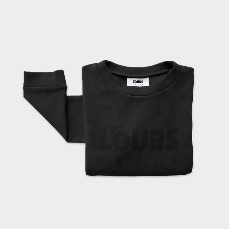 The Original Sweatshirt Logo | Noir - loursparis