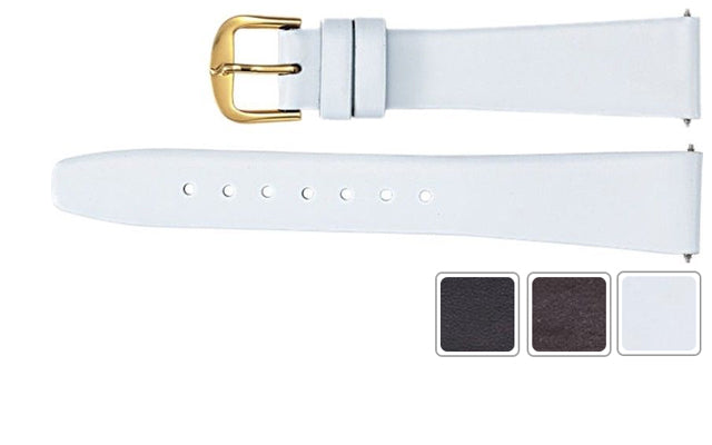 Watch Strap - Leather Watch Strap In Real Calf Leather