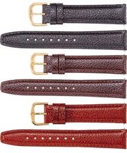Watch Band In Textured Calf Leather - Men
