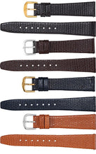 Watch Band - Leather Watch Band For Men In Lizard Grain