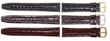 Watch Band - Leather Watch Strap Crocodile Band For Men