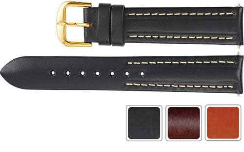 Watch Band - Leather Watch Band Of Calf Leather For Men