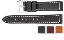 Watch Band - Leather Watch Band Sport Chrono Strap