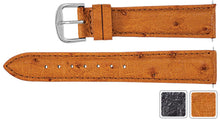 Watch Band - Ostrich Watch Strap Leather Band For Men