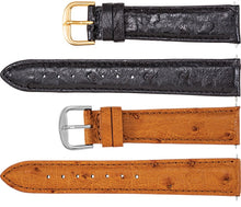 Watch Band Of Genuine Ostrich Leather - For Sale