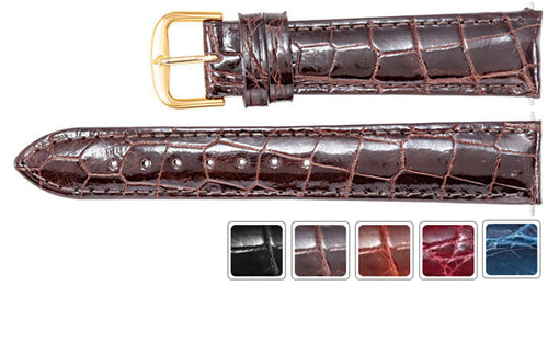 Watch Strap - Leather Watch Strap In Eye-Catchy Colors