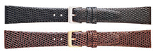 Watch Band Lizard Grain For Ladies - Brand New