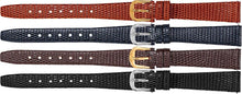 Watch Band With Lizard Grain Leather - Ladies