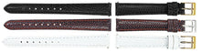 Watch Band With Lizard Grain Calf Leather - Padded