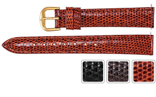 Watch Band - Lizard Watch Strap Leather Band For Ladies