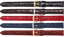 Watch Band - Crocodile Watch Strap Leather Band