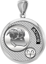 Aries Necklace In 925 Silver - Pendant Only