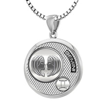 Gemini Necklace In 925 Sterling Silver - 2.2mm Box Chain