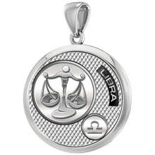 Libra Necklace In Silver With 925 Purity - Pendant Only