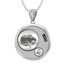 Leo Necklace In Round For Ladies - 1.10mm Rope Chain