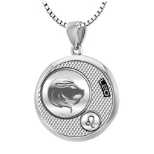 Leo Necklace In Round For Ladies - 1.5mm Box Chain