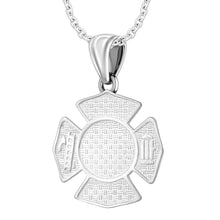 Firefighter Pendant of 26mm Length - 1.2mm Cable Chain