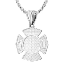 Firefighter Pendant of 26mm Length - 1.5mm Rope Chain