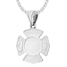 Firefighter Pendant of 26mm Length - 1.8mm Cable Chain
