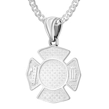 Firefighter Pendant of 26mm Length - 1.8mm Curb Chain