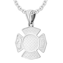 Firefighter Pendant of 26mm Length - 2.5mm Cable Chain