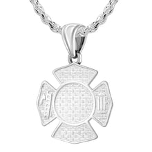 Firefighter Pendant of 26mm Length - 2.5mm Rope Chain