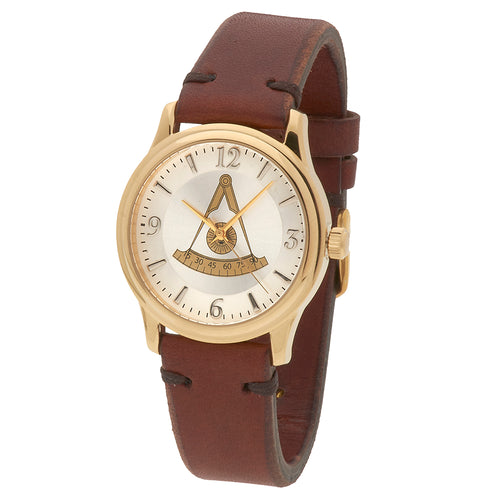 Bulova Watch - Mason Watch With Brown Leather Strap