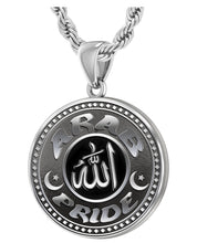 Arab Necklace For Men In Sterling Silver - 3mm Rope Chain