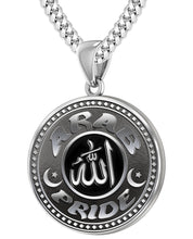 Arab Necklace For Men In Sterling Silver - 4.1mm Cuban Chain