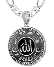Arab Necklace For Men In Silver - 5.2mm Figaro Chain
