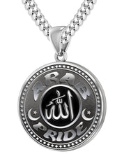 Arab Necklace For Men In Sterling Silver - 5.6mm Cuban Chain