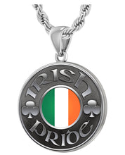 Irish Necklace For Men In Sterling Silver - 3mm Rope Chain
