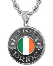 Irish Necklace For Men In Sterling Silver - 4.4mm Rope Chain