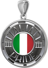 Italian Necklace For Men In Silver - Pendant Only