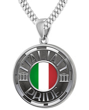 Italian Necklace For Men In Silver - 4.1mm Cuban Chain