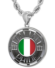Italian Necklace For Men In Silver - 4.4mm Rope Chain