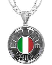 Italian Necklace For Men In Silver - 4mm Figaro Chain