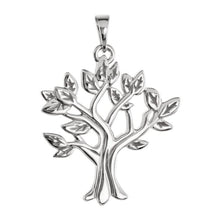 Ladies 14K Yellow, White or Rose Gold My Tree Family Pendant - US Jewels