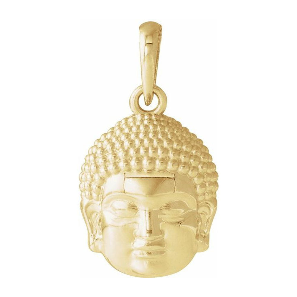 Buddha Pendant - Pendant For Women In 14K Purity Gold