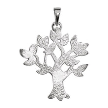 Family Tree Pendant In 925 Silver For Ladies - Back View