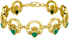 Birthstone Bracelet In Solid Gold - Yellow
