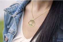 Tree Of Life Necklace Of Gold With Polish Finish - Ladies