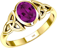Trinity Chatham Alexandrite June Birthstone Ring - US Jewels