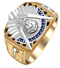 Masonic Ring With 14k or 10k Purity - Yellow