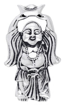 Buddha Pendant Necklace In Silver - Pendant Only