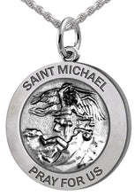 Saint Michael Pendant - Pendant Necklace In 2 Sizes