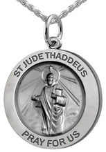 Pendant Necklace - St Jude Thaddeus Necklace In Round